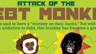 debt monkey infographic